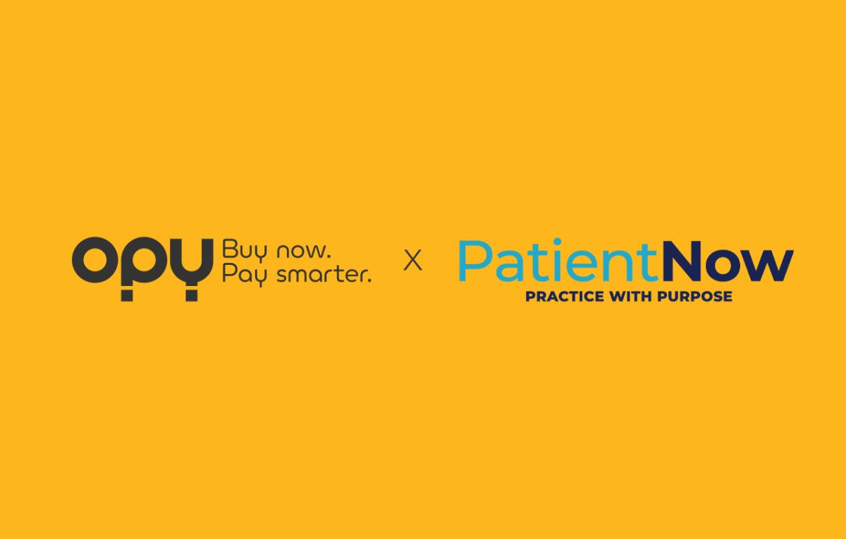 Opy and PatientNow partnership